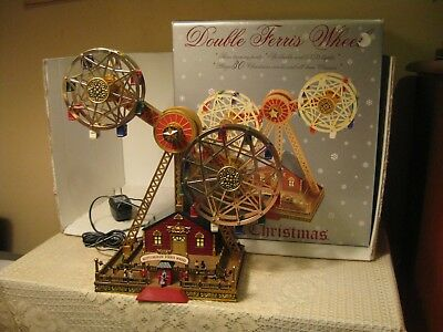 Mr Christmas Double Ferris Wheel ~ Lights, Motion, 30 Holiday & Classic Songs