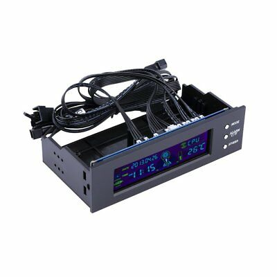 5.25 inch PC Fan Speed Controller Temperature Display LCD Front Panel MT