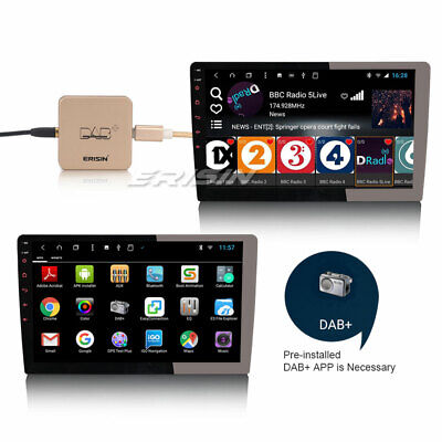 Digital DAB+Radio Aerial Tuner+Amplified Antenna for Android 7.1/8.0 Car Stereo
