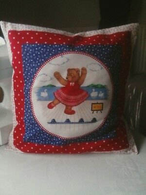 Ballerina Bear cushion cover