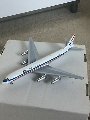 Inflight 200 United Airlines DC8 Friend Ship Die-Cast Metal Model 1:200 Scale