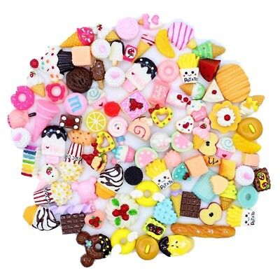 Wholesale Assorted Kawaii Desserts Sweets Food Cabochon Resin Flatback Crafts