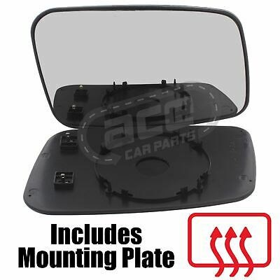 Volvo XC60 8//2008-2017 Wing Mirror Glass Chrome Aspherical Heated Passenger Side