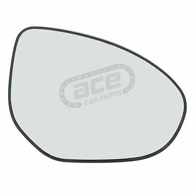 Right Hand Driver Side Mirror Glass for Mazda 3 2003-2009 0138RS