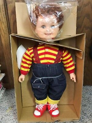 Vintage Playmates Corky Doll Cricket's Brother Original Box 25 inch - NO TAPES