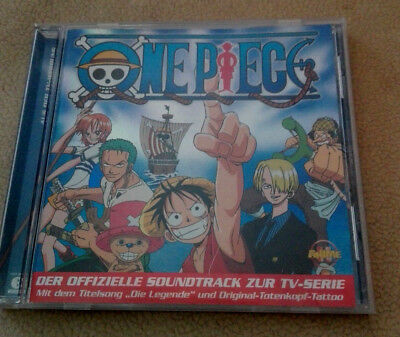 CD - One Piece / offizieller Soundtrack / 14 Sogs / CD wie neu / Anime Kult