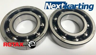 Two Genuine Rotax Max 125cc Main Bearings 6206 NextKarting