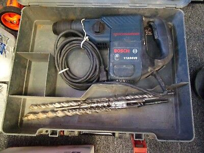 BOSCH SDS PLUS 11236VS ROTARY HAMMER DRILL w/ CASE & BITS**