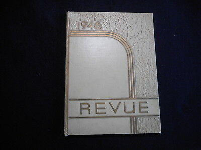 1946 Barret High School Henderson KY Yearbook Annual The Revue