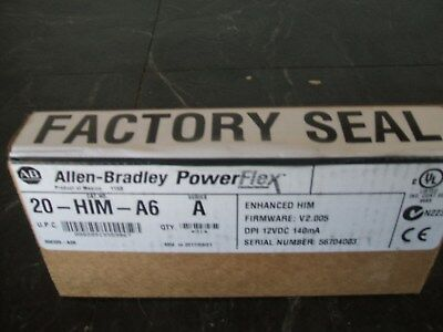 20-HIM-A6 FACTORY SEALED  Allen-Bradley Series A Full Numeric LCD HIM 20HIMA6