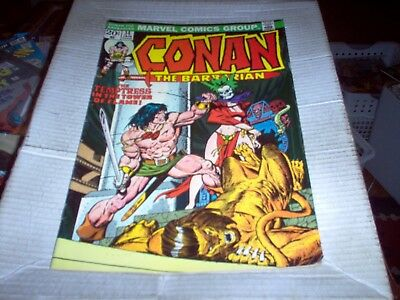 Conan The Barbarian # 34 J. Buscema Art Tower Of Flame Issue Look Fn+