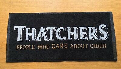 THATCHERS People Who CARE About Cider Bar Towel New