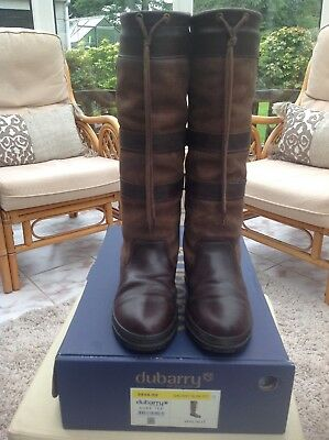 1a18e13df55 DUBARRY GALWAY WOMENS Slim Fit Boots size UK 5 EU 38 - £180.00 ...