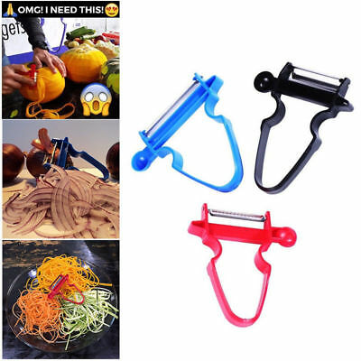 3pcs Peeler Set Magic Trio Peeler Slicer Shredder julienne Fruit Cutter Hot UK