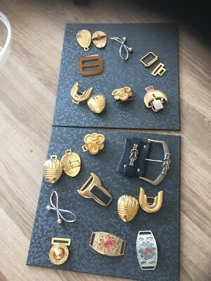 Collection Of Mixed Belt Buckles