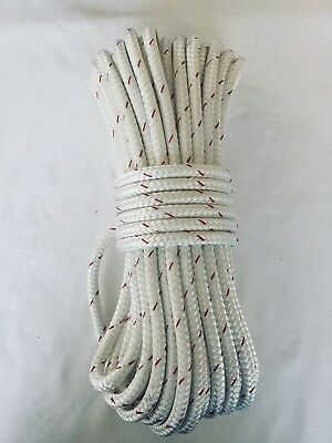 1/4 x 125 Sta-Set fleck New England Double Braid Polyester Sail Rigging Made USA