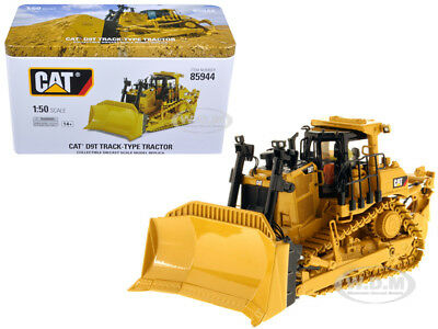 Cat Caterpillar D9T Track Type Tractor W/operator 1/50 By Diecast Masters 85944