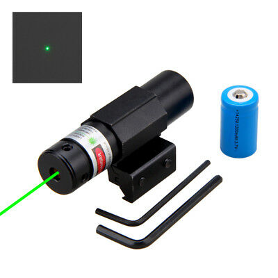 Tactical Green Dot Laser Sight for Rifle Gun Scope fit 11mm/21mm Picatinny Rail