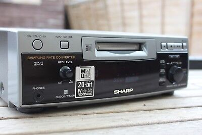 Sharp MD-R1mk2 Mini Disc Recorder Player Deck With Sampling Rate Converter@