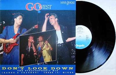 """Go West: Don't Look Down (12""""STRATOSPHERIC MIX 1985! 6:02 min! SYNTH!)"""