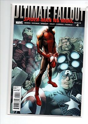 Ultimate Fallout #4 Spider-Man No More - 1st app. Miles Morales - 1st print - VF