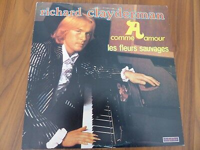 LP von RICHARD CLAYDERMAN - A comme amour