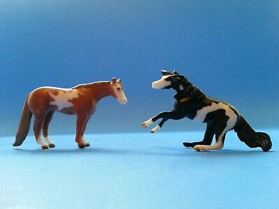 Breyer Mini Whinnies Pinto and Paint Cutting Mare