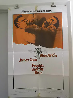 FREEBIE AND THE BEAN one 1 sheet movie poster ALAN ARKIN JAMES CANN 1974 origina