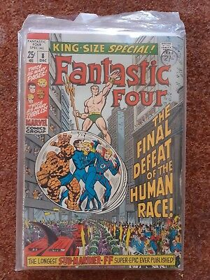 Fantastic Four King Size Special 8 Vg+
