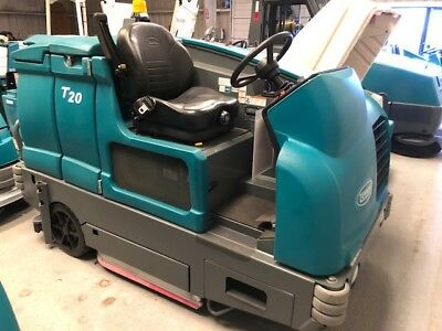Tennant Remanufactured T20 Ride on Floor Scrubber - Free Shipping - 2015 Model!