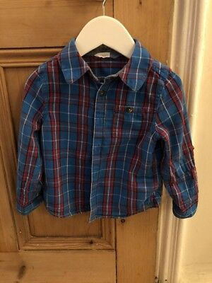 John Lewis Baby Checked Shirt 18 - 24 Months