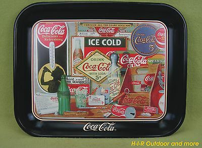 Seltenes USA Coca Cola Blech Tablett Through The Years Plase Join Me In A Memory