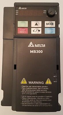 Delta VFD5A5MS43AFSAA 3HP Variable Frequency Drive 380-480VAC 50/60Hz