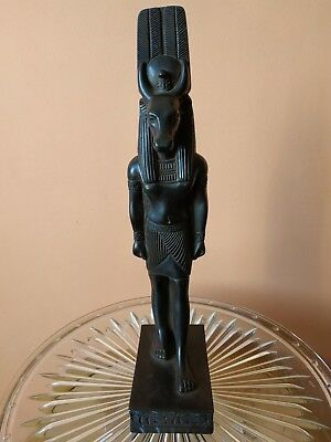 Ancient Egyptian God Deity Anubis Statue Jackal Dog Statue Luxor Hand Craft