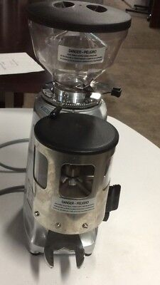 Mazzer Luigi commercial coffee grinder made in Italy