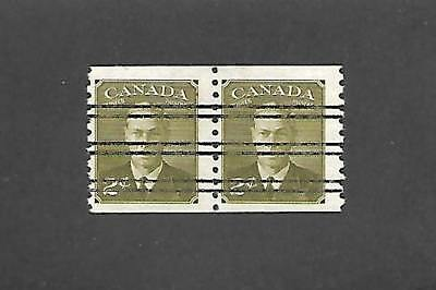 Canada Stamps #v309 Pair (Nh) From 1950-51