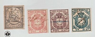 Spain Antillies and or Puerto Rico Cinderella Revenue Fiscal Stamp - 8-15-10