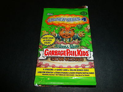 2005 Garbage Pail Kids (ANS4) Hobby Sealed Pack All New Series 4 GPK