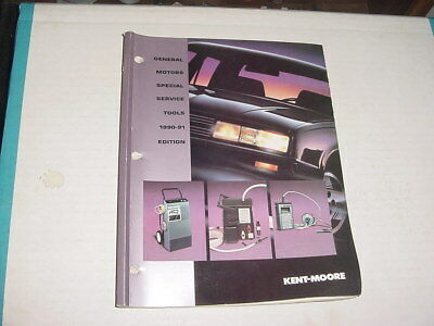 Kent-moore special service tools illustrated catalog 1990