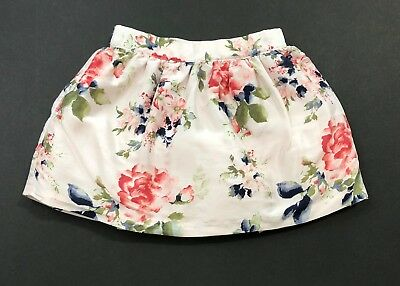 JANIE AND JACK Prima Ballerina Pink Floral Skirt Size 3T