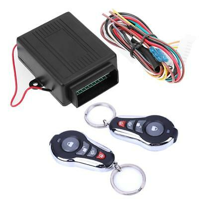 Universal Car Door Lock Keyless Entry System Auto Remote Central Control Kit 12v