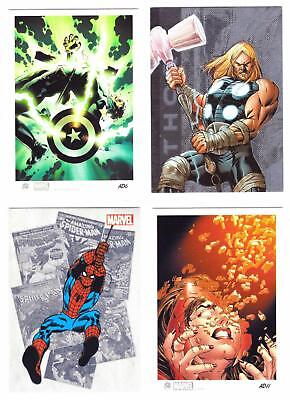 MARVEL MIXED INSERT LOT #2--Lot of 20 Insert Cards/Mvl Univ, 2012 GH, Bronze^