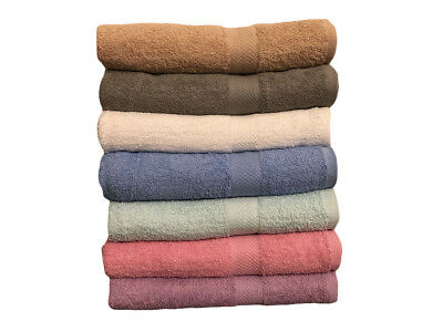 Bath Towels - Eco Towels Brand - 27x54 inches -6 Colors- 450 GSM -100% Cotton