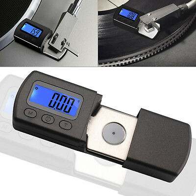 LCD Schallplatten Tonarmwaage Digitale Turntable Stylus Gauge Manometer NEU