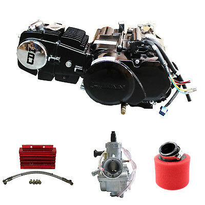150cc Motorbike Engine Filter Oil Cooler Carby Manual Clutch Dirt Pit bike Lifan
