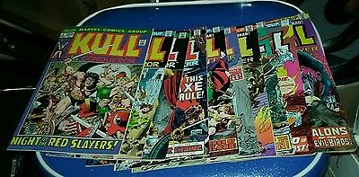 Kull the conqueror 4 6 8 11 12 15 16 17 19 22 comics lot collection destroyer