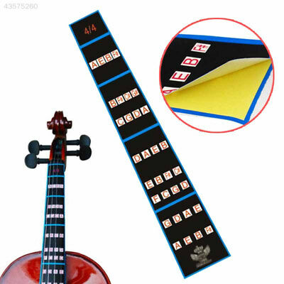 507C 2017 Violin Fiddle Position Marker Tape Fingerboard Chart Finger Marker