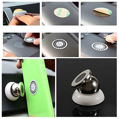 16CC Universal 360 Magnetic Phone Mobile Car Dash Holder Magic Stand Mount