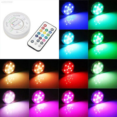 7089 Waterproof LED RGB Submersible Party Vase Light Decor With Remote Control