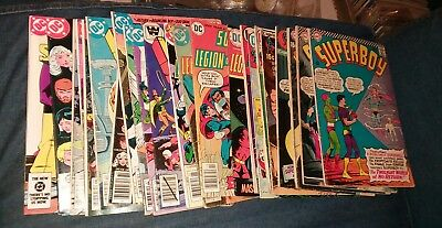 superboy 24 issue silver bronze age comics lot and the legion of super heroes dc
